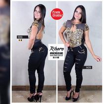 Calça Rhero Jeans -estilo Pit Bull Jeans Com Bojo!cód. 54255