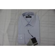 Camisa Social Masculina Hugo Boss Cor Lavanda