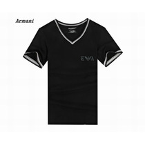 Camiseta Gola V Skinny Camisa Emporio Armani Pronta Entrega