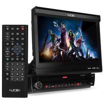 Dvd Retrátil 7 Polegadas Touch Mp3 Wma Ucb Connect