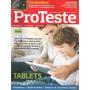 Revista Proteste 138 Tablets , Combustivel - Agosto 2014