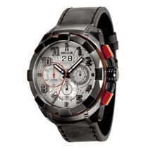 Relógio Masculino Seculus Upper 13009gpsvsc3 56mm Couro