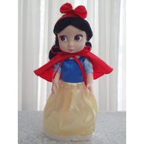 Boneca Mini Animators Princesa Branca De Neve Disney