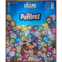 Álbum Figurinha Abril Club Penguin Puffles 2012