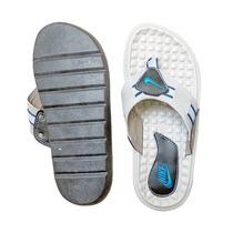 Chinelo Nike 7.0 Prata Azul