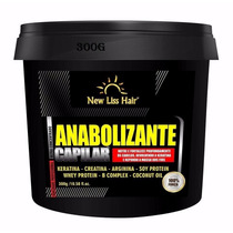 Anabolizante Capilar New Liss Hair Cresce Cabelo Rapido 300