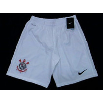 Calçao / Shorts Corinthians 2014 2015 Of Nike - Tenho Camisa