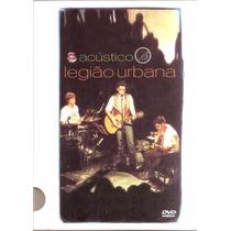 Legião Urbana Acustico Mtv Dvd Lacrado Original Raro