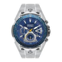 Relógio Orient Flytech Titânio Mbttc006 Cronografo E Nf