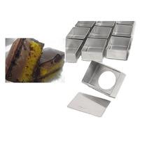Forminha Bolo Bombom 12 Unidades Forma Pão De Mel Aluminio