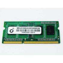 Memoria Ddr3 4gb 2 Pentes De 2gb Notebook 1333 Mhz