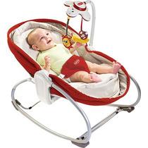 Cadeira De Balanço 3 Em 1 Rocker Napper Vermelho - Tiny Love