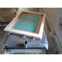 Mesa De Serigrafia E Silk Screen*kit Mesa Portatel+tela Grav