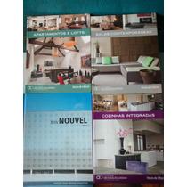 3 Livros De Decoração & Design E 1 Arquitetura