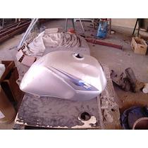Tanque Moto Suzuki Usado Prata