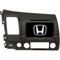 Central Multimídia Aikon S100 Honda New Civic Winka Camera