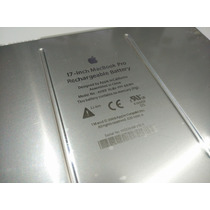 Bateria Notebook Apple Macbook Pro 17 A1189 Original