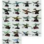 Coleção 60 Avioes Bombardeiros Segunda Guerra Mundial