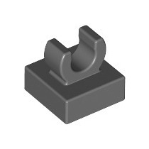 15712 Tile Special 1 X 1 With Clip W Peça Lego Avulsa