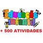 + 500 Atividades Maternal. Envio Grátis Via Email