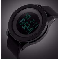 Relógio Masculino Esportivo Digital Corrida Caminhada Led