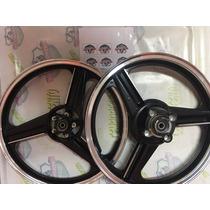 Roda Disco Cg 125 De 2000 A 2008 Com Kit Freio A Disco