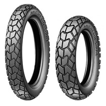 Par Pneu 90/90-19 110/90-17 Michelin Sirac Bros Xre Crosser
