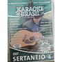 Karaoke Sertanejo Vol 04 Coletânea Karaokê Dvd