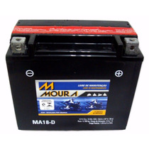 Bateria Moura Moto - 12v E 18ah Bateria Da Harley Davidson