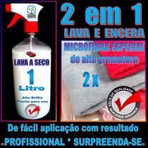 Kit Lavagem A Seco Lava Carro Economize Água * Alto Brilho