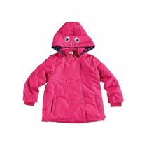 Jaqueta/casaco C/ Capuz Feminino Infantil Zig Zig Zaa Malwee