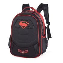 Mochila Escolar Batman Vs Superman - Luxcel - Is31461sb