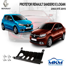 Protetor De Carter - Renault Logan / Sandero 2013 Até 2015