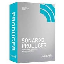Sonar X3 + Soundforge11 +plugins 32 Reais Frete Gratis