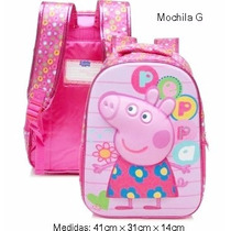 Mochila Costas Peppa Pig 3d