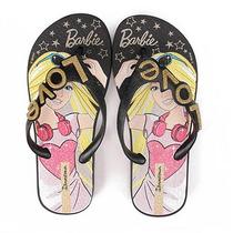 Chinelo Ipanema Barbie Love 25829 Tam 23 Ao 33 - Preto