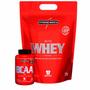 Kit Suplementos Whey Proten - Nutri Whey 1,8kg + Bcaa Top