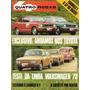 Quatro Rodas Nº150 Janeiro 1973 Dodge Charger R/t Vw 73