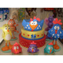 Kit Para Festa Infantil Galinha Pintadinha 3d
