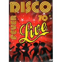 Disco Funk Pop Dvd Disco Fever 70 Live Lacrado Fabrica Raro