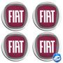 Logotipo P/ Modelos Fiat Calota Ou Roda 4peças 68mm
