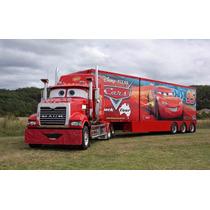 Caminhão Carreta Mack Relampago Mcquem Controle Remoto 90 Cm