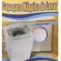 Capa Maq Lavar Napa Impermeavel Super Resist,brastemp 12kgs