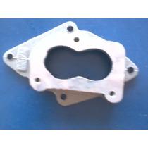 Flange Base Carburador Gol Pampa Solex 2e Aluminio