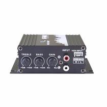Amplificador Digital 2 Canais 500w Pmpo 8 Ohms Multilaser -