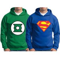 Blusa De Moleton Super Heróis Cap América Super Man Chapolin