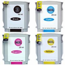 Kit Cartucho Compativel Hp 940xl / Pro 8000 / Pro 8500 C/04