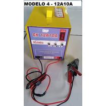 Carregador De Bateria 12v 15ah Flutuante Auto Visor Voltag