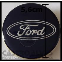 Calota Calotinha Tampa Roda Esportiva Krmai Ford 5,6cm -1 Pç