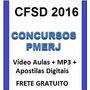 Video Aulas + Mp3 Cfsd Pmerj 2016 + Apostila Digital Grátis
